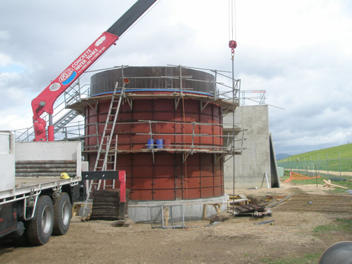 Above & Underground concrete water tanks for Domestic, Commercial, Rural use