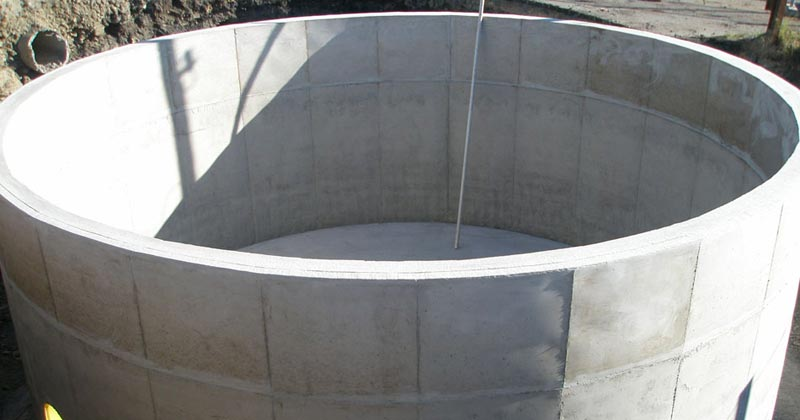 Concrete Water Tanks Domestic Industrial Rural